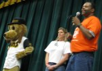 Coach Jackson, Nurse Langley and Southpaw