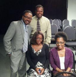 Al Letson, Prof. Wm Jackson, Brittany Glover, Michelle McNealy