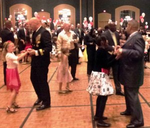 Fathers Dance with Daughters