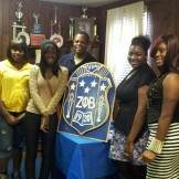 Debutants of Zeta Phi Beta