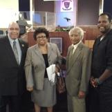 Mr. Hurst Mrs. Wilson Dr. Girardeua Wm. Jackson
