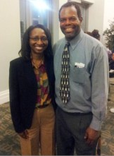 Wm Jackson and School Board Member Paula Wright
