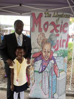 Mayor Brown and Natalie