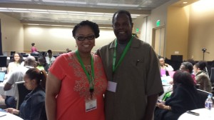 Jamie Broadnax and William Jackson