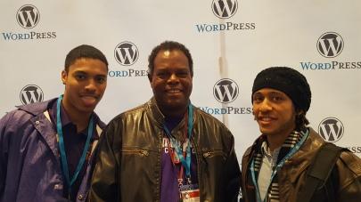 Josh, Prof. Jackson, Jon