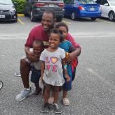 Wm Jackson with kids