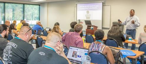 William Jackson at WordCamp Jacksonville