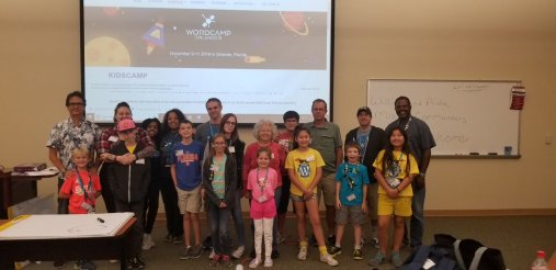 KidsCamp at WordCamp 2018