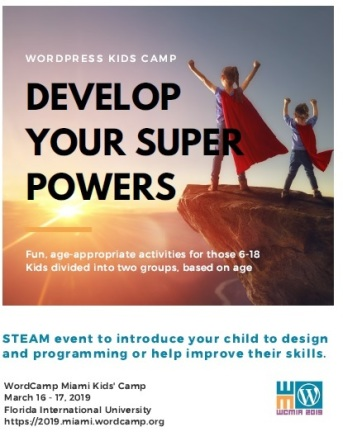 Develop Your Super Powers At WordCamp Miami