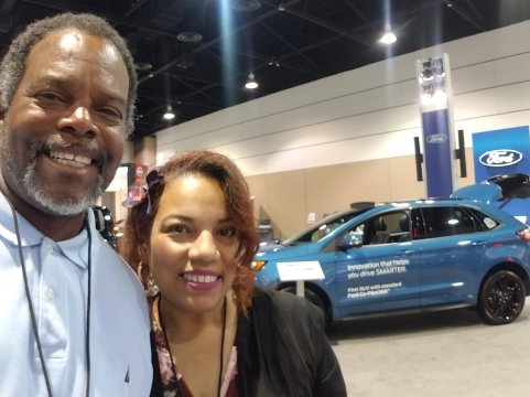 William and Aida with Ford Innovation